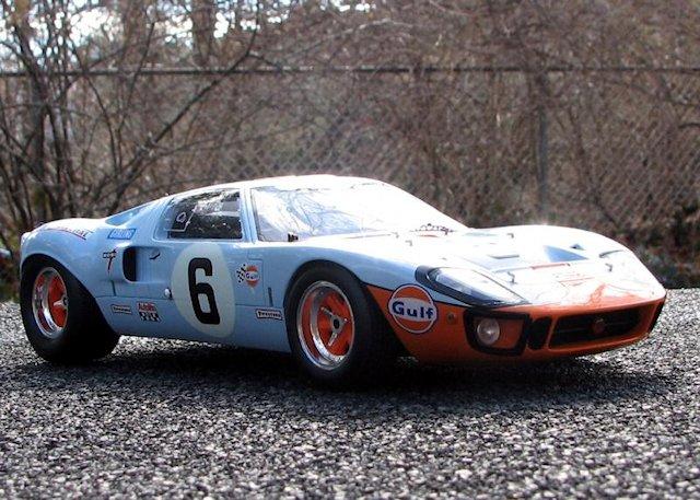 Spark Models _ Ford GT40 MKI4