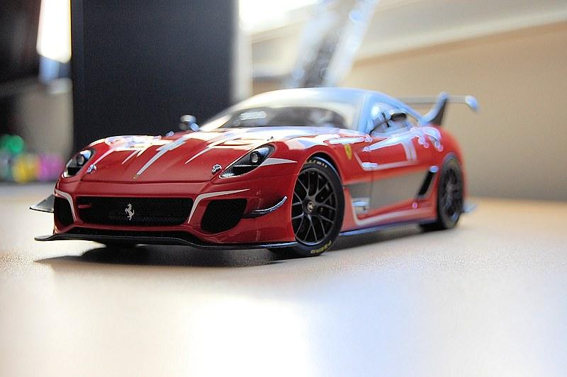 Review Hot Wheels Elite Ferrari 599xx Evo Diecastsociety Com