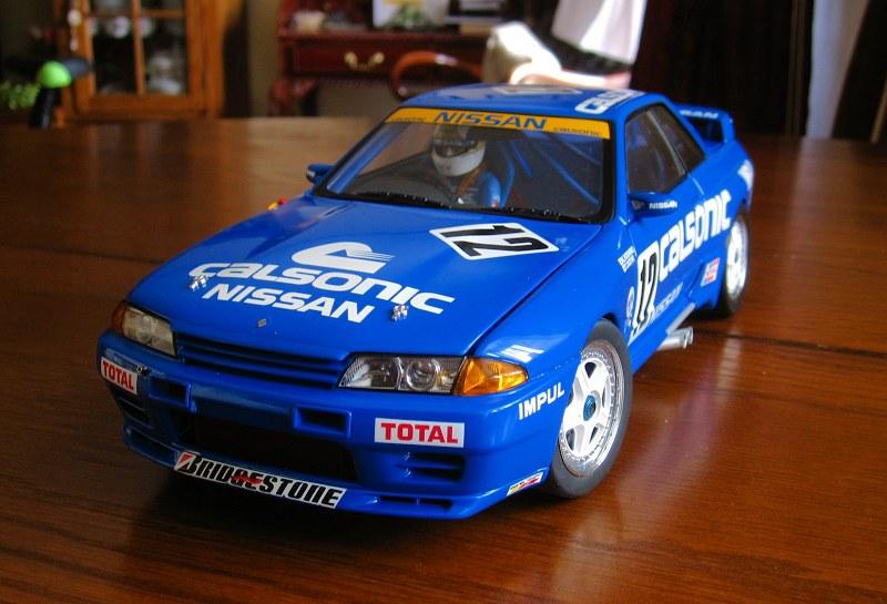 Nissan Skyline GT-R R32 Group A 1990 Calsonic6