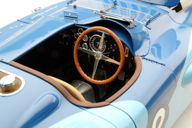 Amalgam Bugatti Type 57g Tank 1937 Le Mans Winner