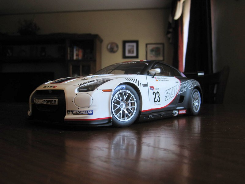 review_Nissan GT-R, FIA GT1