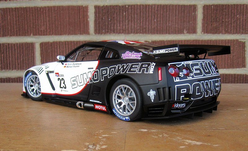 review_Nissan GT-R, FIA GT15