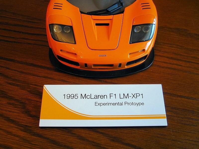 TSM McLaren F1 LM XP1