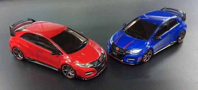 Ebbro New Honda Civic Type R Concept 2014 Diecastsociety