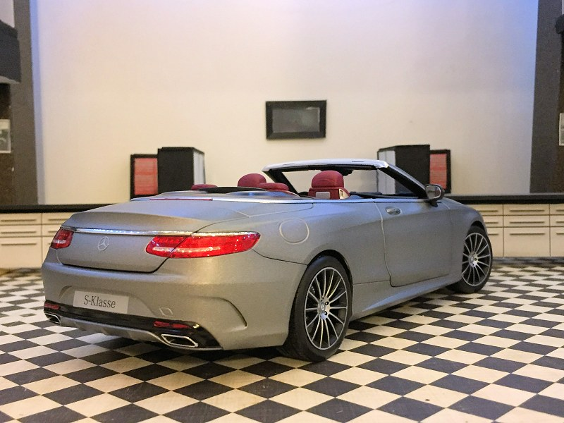 Norev S Class Cabriolet5