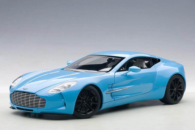 Autoart Aston Martin One 77 Tiffany Blue Diecastsociety Com