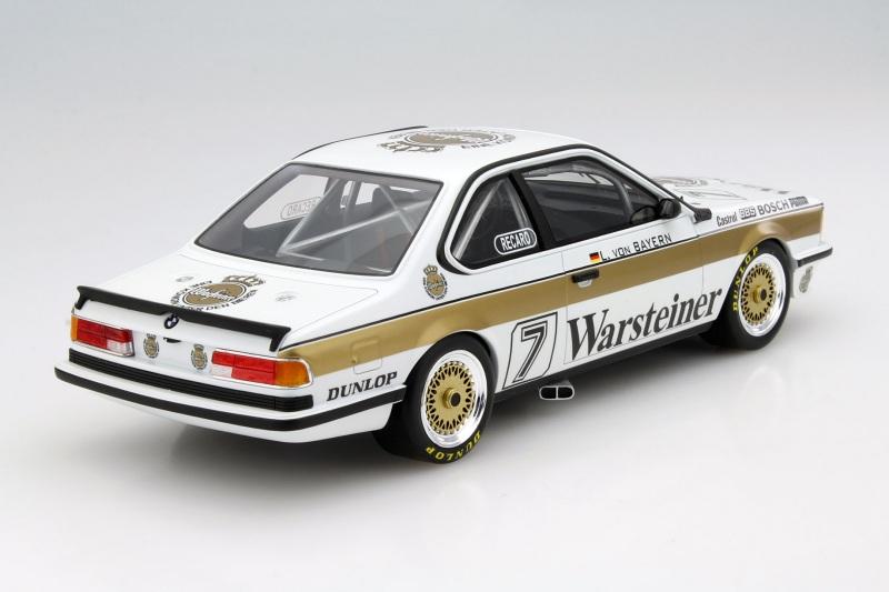 DPM 1984 CMR 1//18 BMW 635 CSI WARSTEINER CMR007