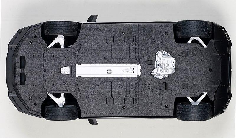 Autoart 1 12 Lamborghini Huracan Lp610 4 Matte Black
