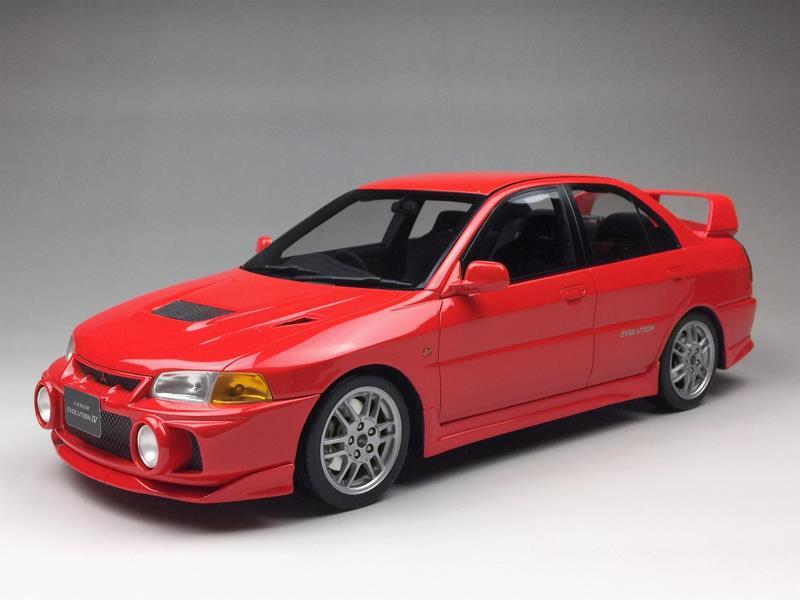 One Model Ltd. Mitsubishi Lancer EVO IV • DiecastSociety.com
