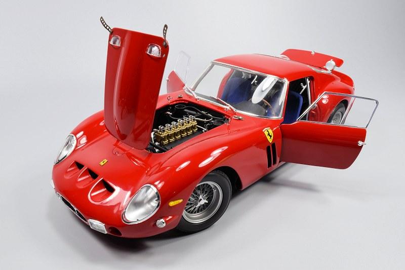 Review Kyosho Hi End Ferrari 250 Gto Red Black Diecastsociety Com