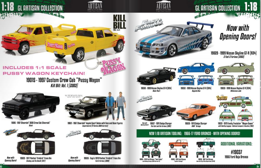 Nice GreenLight Collectables 2017 Catalogue Is Here. It Covers Everything From  1:64 Scale To 1:12 Scale. We Have Taken The Time To Highlight Their 1:18  Stuff ... Pictures Gallery