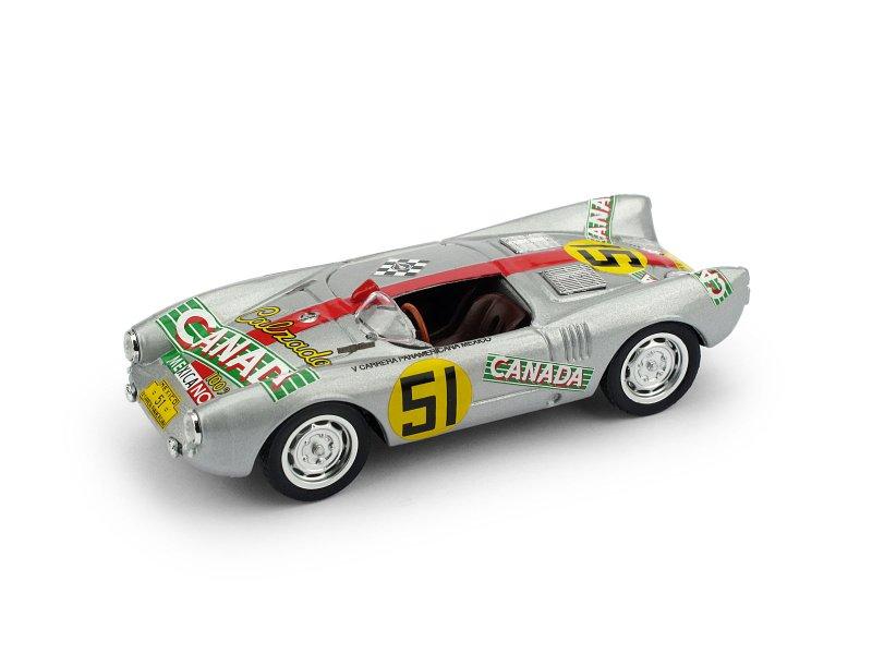 Fiat 500D 1960 Aperta Rosso Medio BRUMM 1:43 R404-01