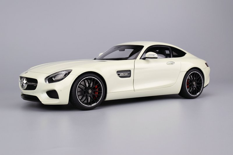 The Mercedes Amg Gt S Comes From Autoart Composite Series Meaning Exterior Panels Are Pretty Much Plastic