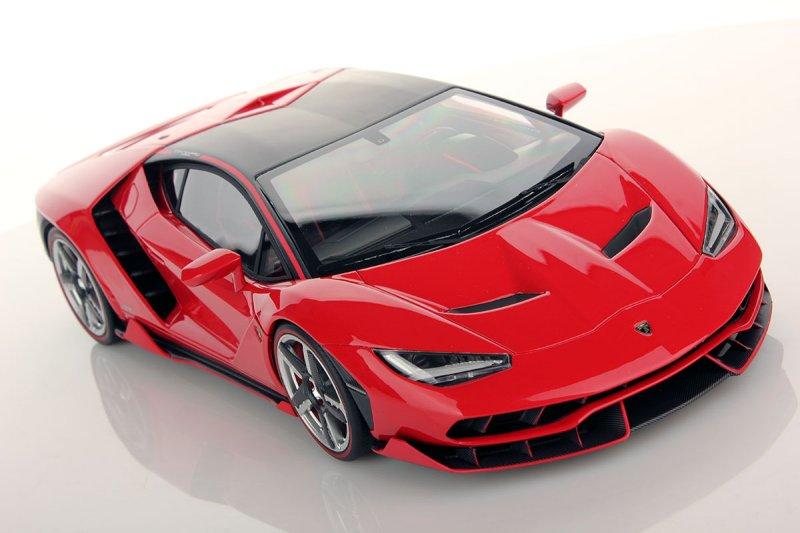 New Colour Mr Collection Lamborghini Centenario Red Yellow