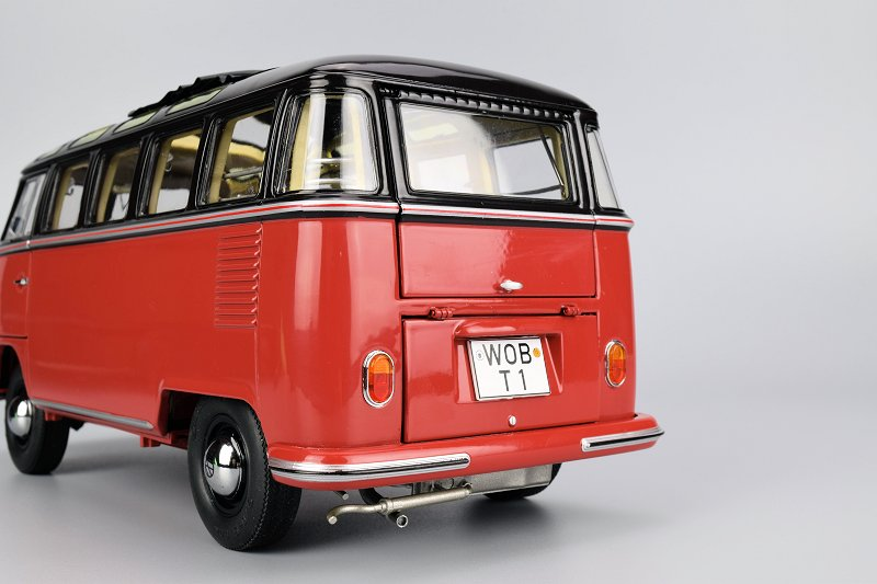 Rear Of The Bus Follows Suit Model Provides Access To Interior And Motor More On Both Areas Below Some Fragments Exhaust System Are