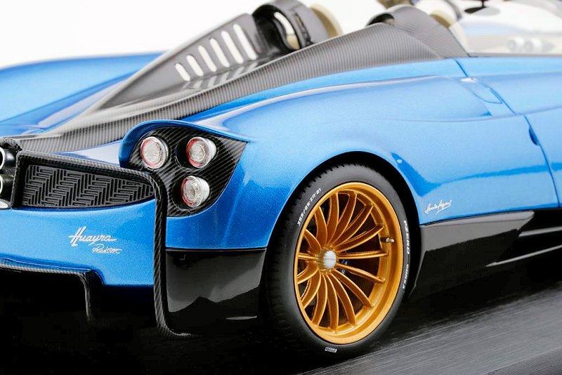 Topspeed New Pagani Huayra Roadster Blue Francia Diecastsociety Com