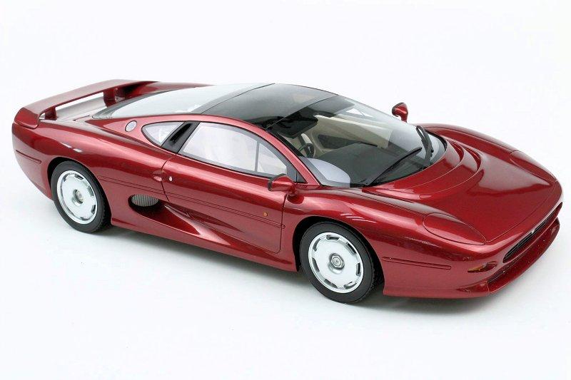 Top Marques Expands Jaguar Xj220 Assortment Diecastsociety Com