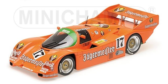 Minichamps 155856509-Porsche 962c nº 9 Kremer Racing Manfred Winkelhock 1:18