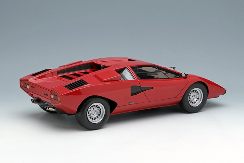 Make Up New 1 18 Lamborghini Countach Lp400 1974 Diecastsociety Com
