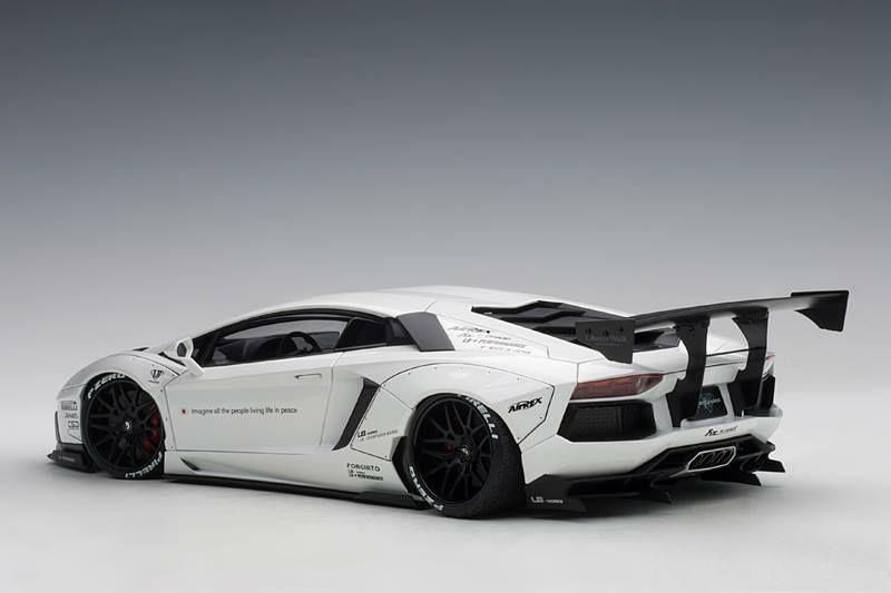Autoart New Liberty Walk Lb Works Lamborghini Aventador