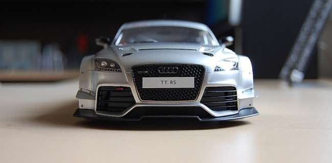 REVIEW Spark Audi TT RS VLN Presentation Car Audi Collection - Audi collection