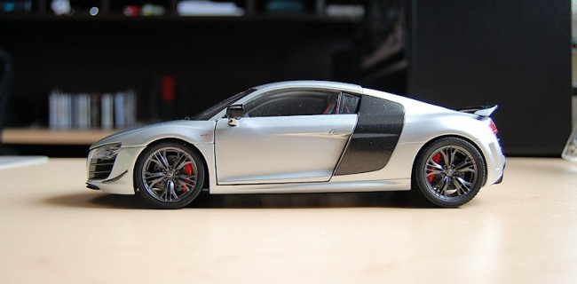 REVIEW Kyosho Audi R GT DiecastSocietycom - Audi r8 gt