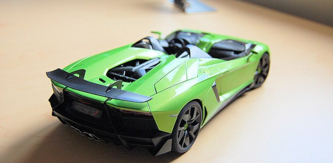 Review Autoart Lamborghini Aventador J Diecastsociety Com