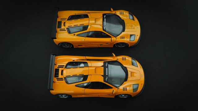 Review Autoart Mclaren F1 Lm Diecastsociety Com