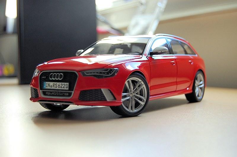 Review Minichamps Audi Rs6 Avant C7 Dealer Edition Diecastsociety Com