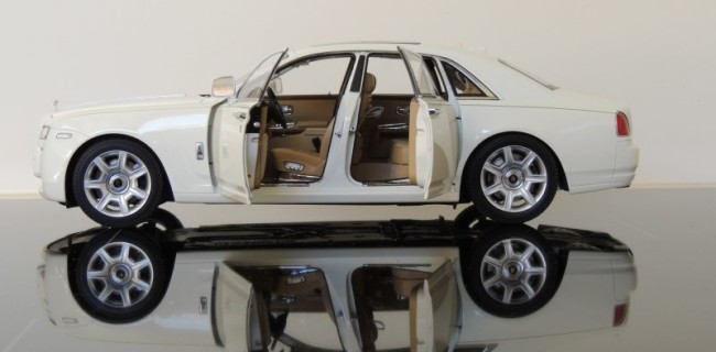 Review Kyosho Rolls Royce Ghost Diecastsociety Com