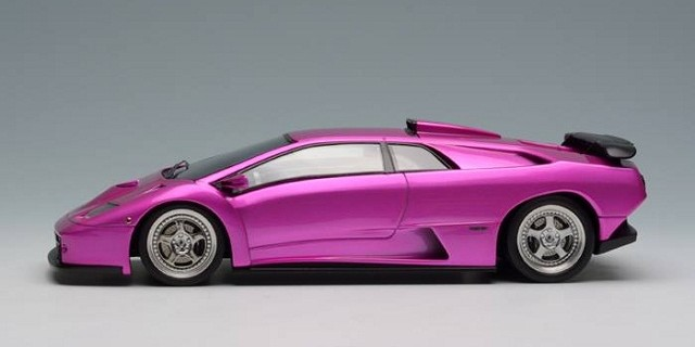 Make Up New Hot Pink 1999 Lamborghini Diablo Gt Diecastsociety Com