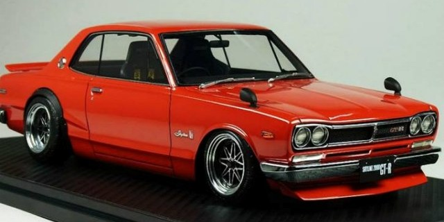 Ignition Models New 118 Nissan Skyline 2000 Gt R Diecastsociety