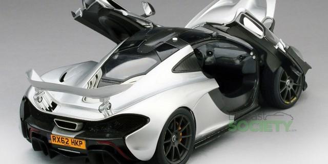 tsm mclaren p1 2013 nurburgring development vehicle • diecastsociety