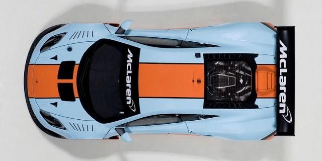 AUTOart Unveils the 1:18 McLaren MP4-12C GT3 Gulf Livery ...