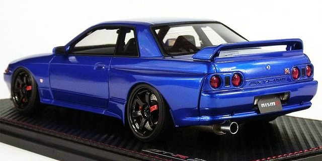 Ignition Model New Skyline GT-R Nismo (R32) Blue