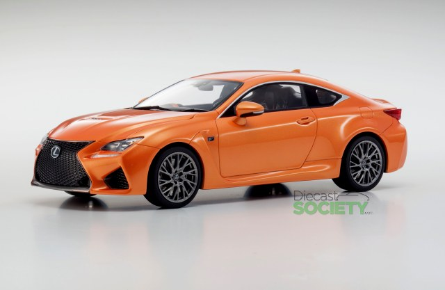 Clear Red - 1//18 scale Resin model  Lexus RC Liberty Walk LB