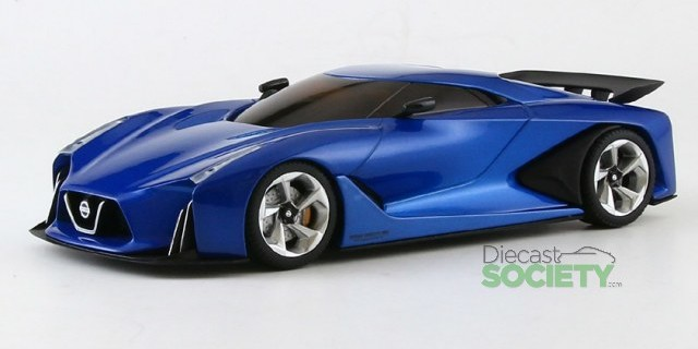Kyosho New 1:43 Diecast Nissan Concept and Caravan ...
