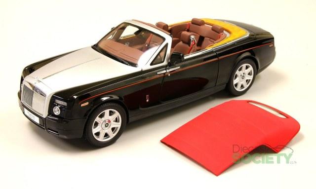 Kyosho New 1 18 Rolls Royce Phantom Drophead Coupe