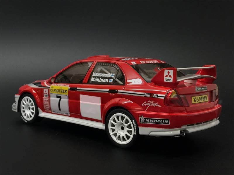 2016 Lancer Evolution >> One Model Mitsubishi Lancer Evolution 6.5 WRC (Tommi Makinen) • DiecastSociety.com