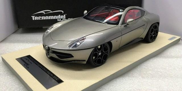 Tecnomodel New Alfa Romeo Disco Volante By Carrozzeria Touring