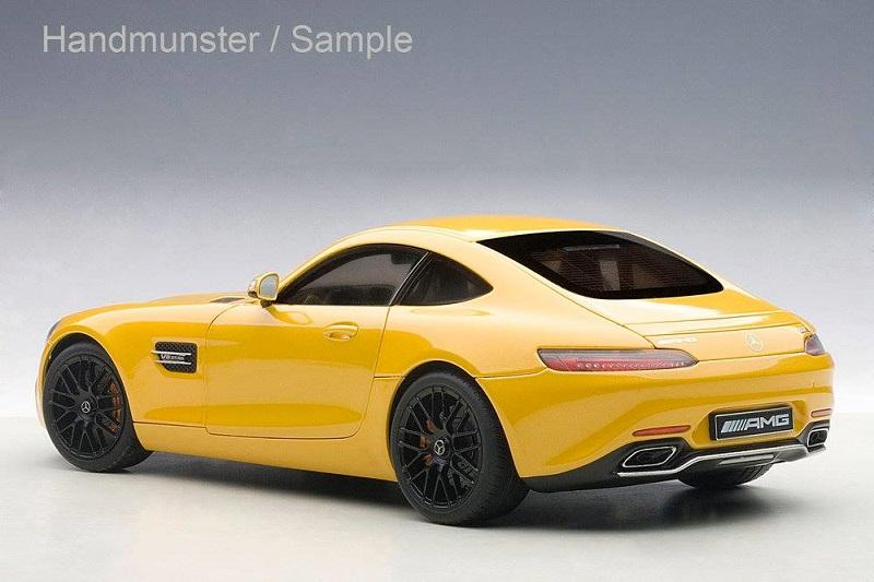 Autoart 76312-1//18 Mercedes Benz Amg Gt-S Neu - Matt Grey 2015