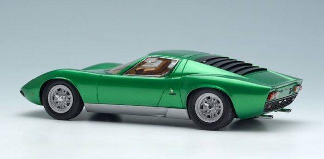 Make Up Lamborghini Miura P400sv 4846 Diecastsociety Com
