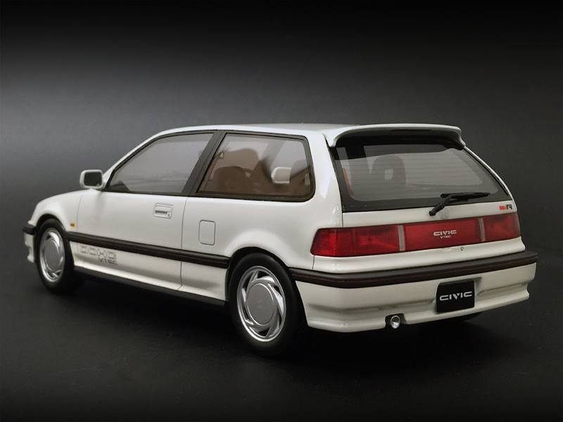 One Model Ltd. Honda Civic (EF9) - White • DiecastSociety.com