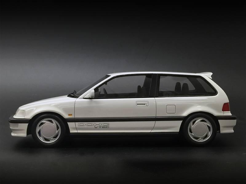 One Model Ltd. Honda Civic (EF9) - White • DiecastSociety.com