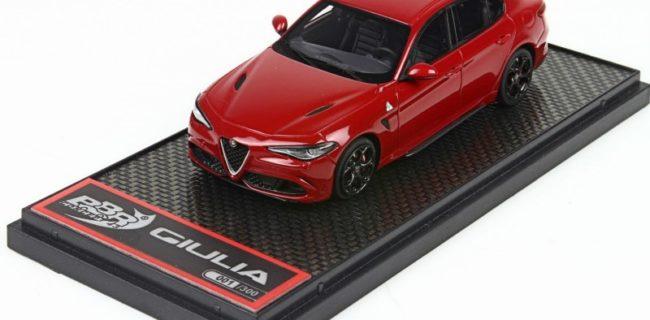 BBR Alfa Romeo Giulia Quadrifoglio DiecastSocietycom - Alfa romeo model cars