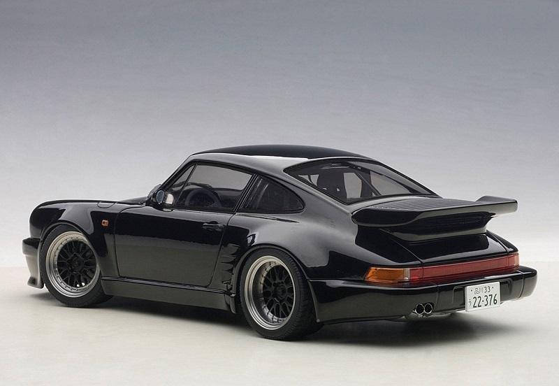 Autoart In Depth Wangan Midnight Blackbird Porsche 930