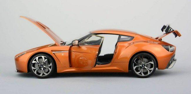New Skin FrontiArt Aston Martin V Zagato DiecastSocietycom - Aston martin v12 zagato