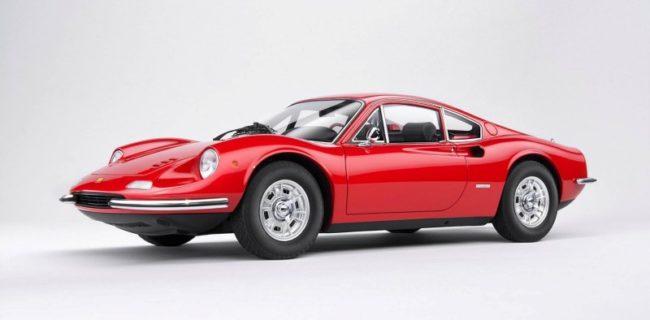 Kyosho New Ferrari Dino 246gt Diecastsocietycom