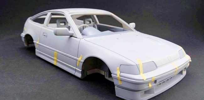 The Team At One Model Ltd Announces 118 Version Of Honda CRX Didnt Crew From AUTOart Complete Diecast A Few Years Ago