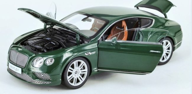 Paragon Models New Bentley Continental Gt Coupe Diecastsociety Com